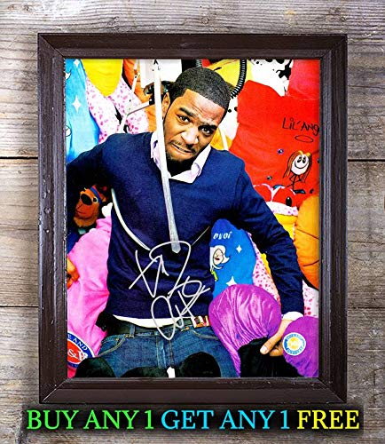 Kid Cudi Man On The Moon: The End of Day Autographed 8x10 Photo Reprint #66 Special Unique Gifts Ideas for Him Her Best Friends Birthday Christmas Xmas Valentines Anniversary Fathers Mothers Day