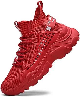 FUSHITON Scarpe Uomo Scarpe Ginnastica Sneakers Scarpe Alte Sportive Scarpe Casual Corsa Traspiranti Comode