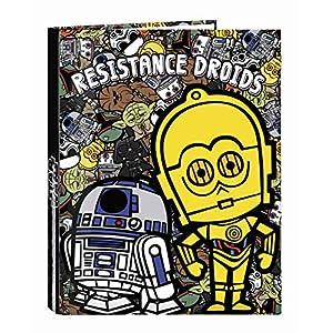 Star Wars Galaxy Oficial Carpeta Oficial Con Folios4 Anillas 265x330mm 10