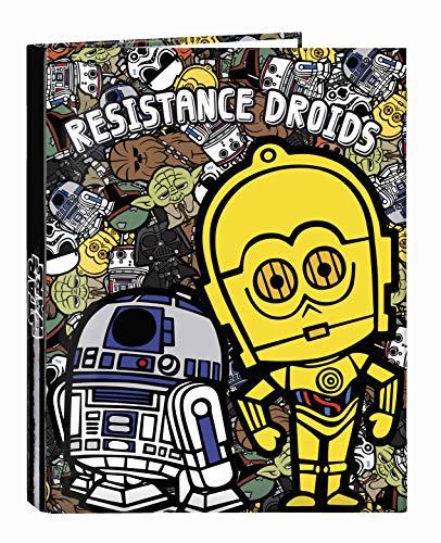 Star Wars Galaxy Oficial Carpeta Oficial Con Folios4 Anillas 265x330mm
