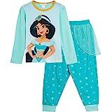 Disney Princess Jasmine Dress Up Pyjamas Girls Full Length Novelty Pjs
