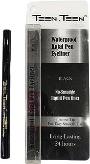 Teen Teen Patta Pen Eyeliner, Black,