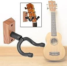 Supporto a muro chitarra gancio di chitarra Supporti da Parete Chitarra Supporto da parete per chitarra sostegno gancio per chitarra, basso, mandolino, banjo, violino, ukulele e fiddle-fancylande