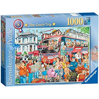 Ravensburger Best of British No.8 - The Coach Trip, 1000pc Jigsaw Puzzle