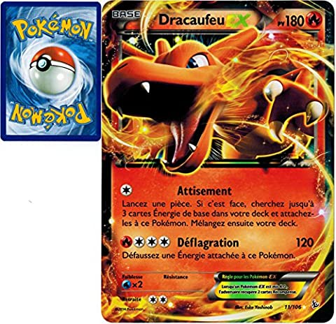 carte Pokémon 11/106 Dracaufeu EX JUMBO Promo