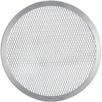 FMprofessional 21686 Pizza-Screen, Aluminium, Silber, 50 x 50 x 20 cm