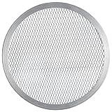FMprofessional 21686Pizza de Screen, Aluminio, Plata
