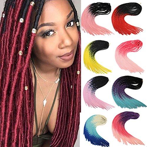 SHANGKE HAIR Synthetischen Geflecht Stirnband stumpfes Bang Erweiterung Haarspange in Bangs hitzebest?ndig Frauen Haare gef?lschte Naturhaar (Synthetische Haar-mischung)
