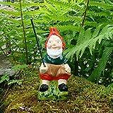 Pêche de gnome ~ Toby ~ assis pêcheur