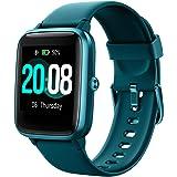 LIFEBEE Smartwatch, Reloj Inteligente Impermeable IP68 para Hombre Mujer niños, Pulsera de Actividad Inteligente con Monitor