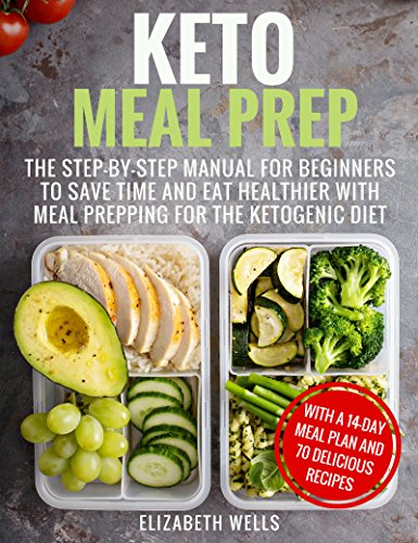 Keto Meal Prep: The Step-by-Step Manual for Beginners to Save Time and Eat Healthier with Meal Prepping for the Ketogenic Diet (English Edition)