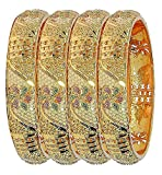 YouBella Jewellery Traditional Gold Plated Bracelet Bangles Set - Best Reviews Guide