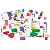 Set para adquirir soltura en matemáticas de Learning Resources - cubos MathLink
