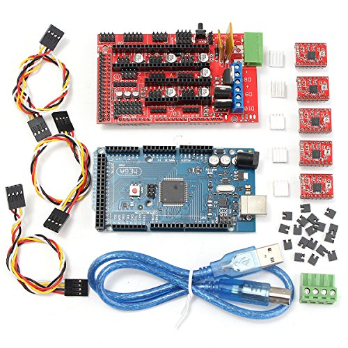 Controller 3D Printer Kit, faway für Arduino RepRap Ramps 1.4+ Mega2560+ 5x A4988
