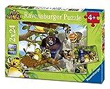 Ravensburger Italy 07805 9 - Puzzle Vita da Giungla: Alla Riscossa! 2 x 24 Pezzi