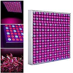 wolketon LED Pflanzenlampe 45W Pflanzenleuchte Pflanzenlicht Grow Lampe Rot Blau Licht 225 LEDs Wuchslampen für Blumen und Gemüse Pflanzen Lampe