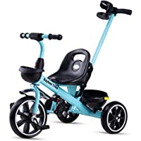 Baybee Spectra II Tricycle for Kids, Plug n Play Kids Trike Ride on with Storage Space & Parental Handle, Kids Tricycle…