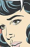 JP London spmurlt2331Ziegelsteinwand Abnehmbare Wand Wandbild Pop Art Warhol Comic Girl bei 2'Breite, 3' Hohe