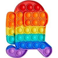 Push Pop Bubble Sensory Fidget Toy Set ,Pop It Push Pop Silicone -Relief Items Popper Fidget Educational Toys for ADHD…