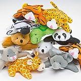 Baker Ross Bean Pals 'Kleine Tiere' - Stofftiere für Kinder - Spielzeug als Mitgebsel und Preis beim Kindergeburtstag (10 Stück)