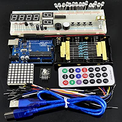 Arduino Basic Anlasser Lernen Kit Anlasser Uno R3 830 Tafel Geekcreit Grundlagen