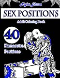 Sex Position Coloring Book (Nights Edition): 40 Kamasutra Sex Positions Designs: Volume 1