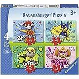Ravensburger - Puzzle 4 en una caja, Paw Patrol (6923)