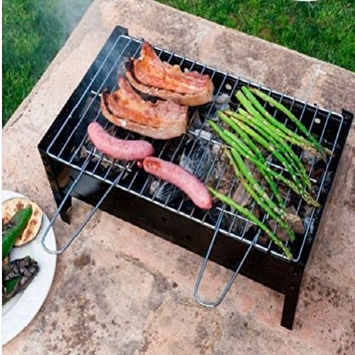 Portable Bbq Grill Charcoal Barbecue Table Top Coal Collapsible / Bbq Grill  Barbecue Professional Gadgets Cooking Outdoor Patio Garden Camping Smoker  ...