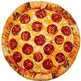 Bada Bing XL Pizza Kissen Ø 40 Familienpizza Salamipizza