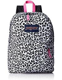 Jansport 25 Ltrs White Leopard School Backpack (JS00T50133J) 3735253c6ed32