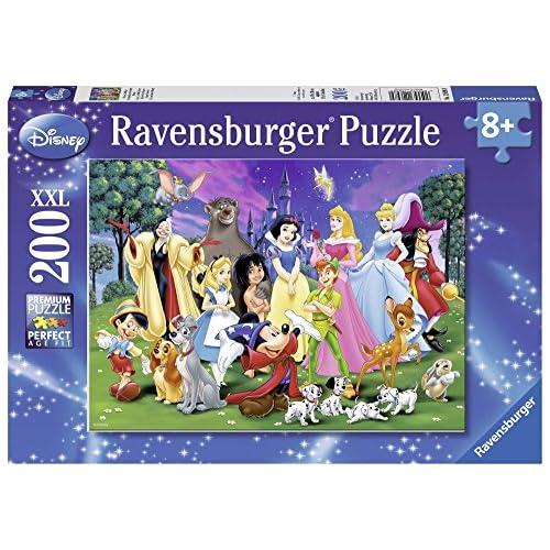Disney Disney-12698 9 Clasic Puzzle 200 Piezas XXL, Multicolor (Ravensburger 12698 9) 5