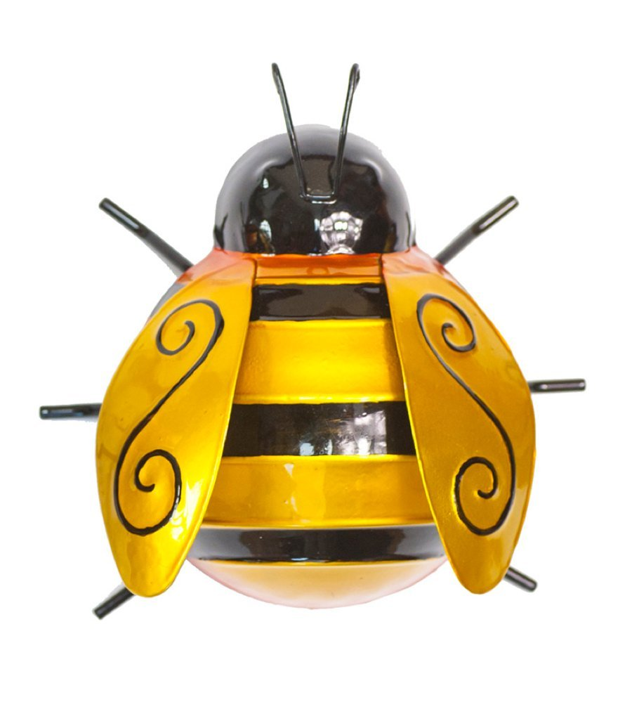 Fountasia Wall Art Medium Bumble Bee Amazoncouk Garden Outdoors