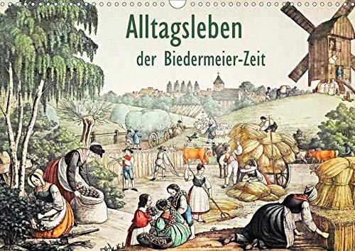 Alltagsleben der Biedermeier-Zeit (Wandkalender 2020 DIN A3 quer): Sehr seltenes Bildmaterial aus...