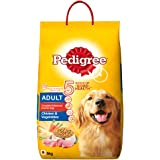 Pedigree Adult Dry Dog Food , Chicken & Vegetables, 6kg Pack