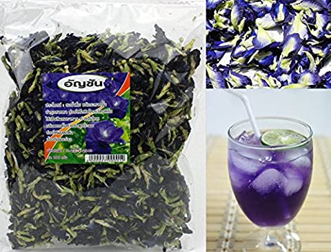 100% Organic Dried Blue Pea - Butterfly Pea Tea 100gBag Grade A