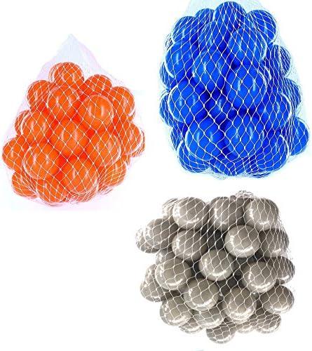 Balles pour balles Mélange Mix avec Gris, Bleu et orange | Paris