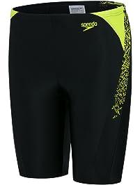 54bfd459b8 Speedo Boys' Boom Splice Jammer Swim Shorts