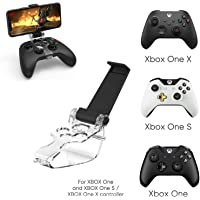 Porro Fino® Xbox Series X Series S Xbox One Controller Mobile Phone Gaming Clip Mount Holder Mobile Phone Stand for Xbox…