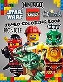 LEGO Jumbo Coloring Book: 5 in 1, STAR WARS, NINJAGO, CITY, BIONICLE, CHIMA