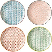 Bloom ingville Assiette Carla Lot de 4/Ø 20 cm