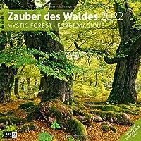 Zauber des Waldes 2022, Wandkalender / Broschürenkalender im Hochformat (aufgeklappt 30x60 cm) - Geschenk-Kalender mit…