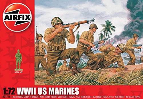 airfix-a01716-wwii-us-marines-172-scale-series-1-plastic-figures