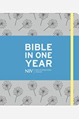 NIV Journalling Bible in One Year: Grey (Bible Niv) Hardcover