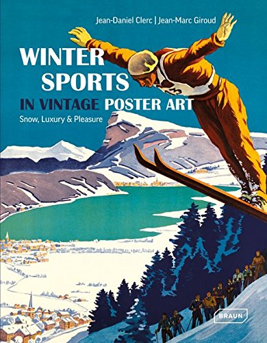 Winter Sports in Vintage Poster ...