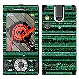 'DISAGU SF Motif 'Binary CODE 8587_ 942Design Skin pour Sony Ericsson W995
