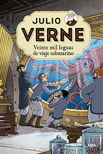 Veinte mil leguas viaje submarino (INOLVIDABLES) por JULIO VERNE