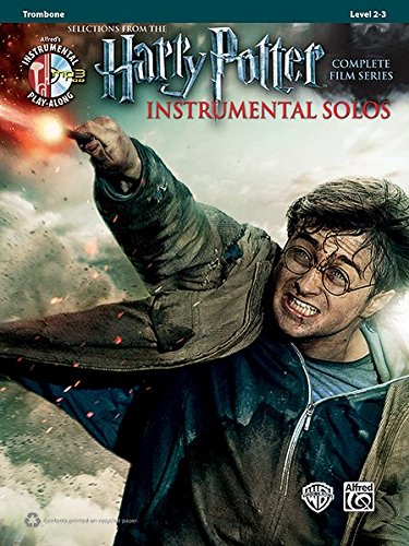 Harry Potter Instrumental Solos from the complete Film Series : Trombone (Book & CD) (Alfred's Instrumental Play-Along, Level 2-3)