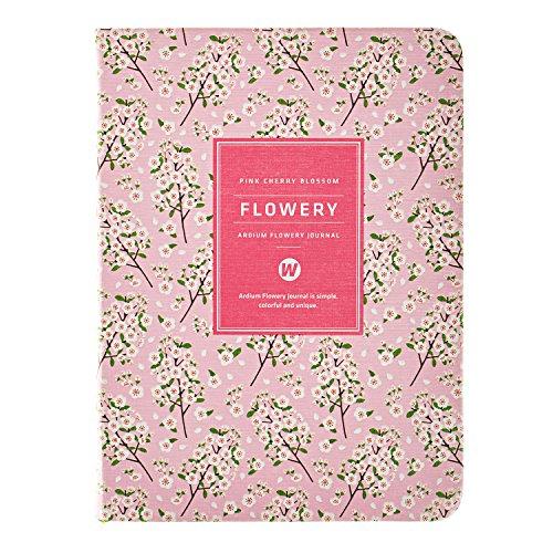 Tages-/Monats-/Wochenplaner, Kalender, Notizbuch, Organizer und Tagebuch Pink Cherry Blossom 5.83in *4.33in