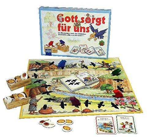 Kinder-Spiel 'Gott sorgt für uns-Elia