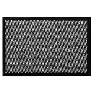 andiamo Schmutzfangmatte, Fußmatte aus Polypropylen – Indoor/Outdoor geeignet - in 90 x 150 cm Hellgrau – 5 mm Höhe